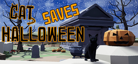 Cat Saves Halloween Game For PC With Torrent Download